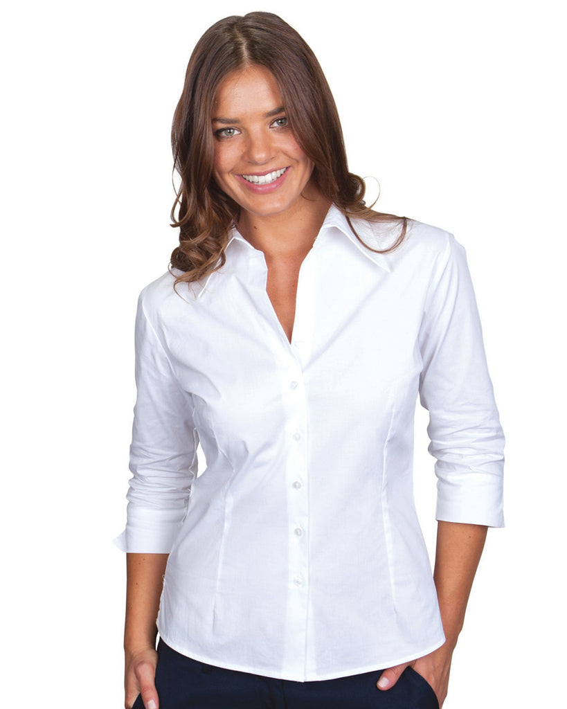 Jb's Ladies 3/4 Fitted Shirt (4LF3)
