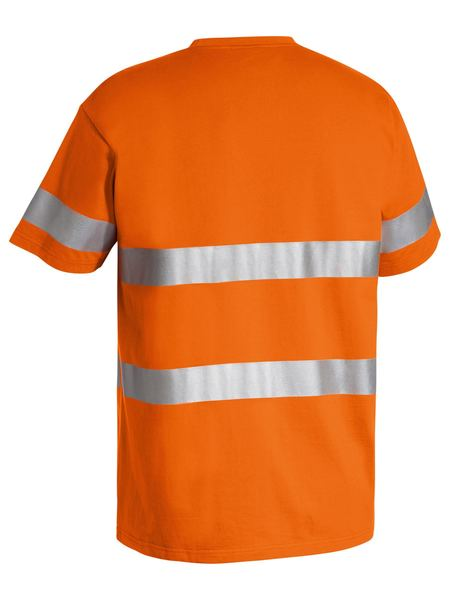 Bisley 3M Taped Hi Vis Cotton T-Shirt-(BK1017T)