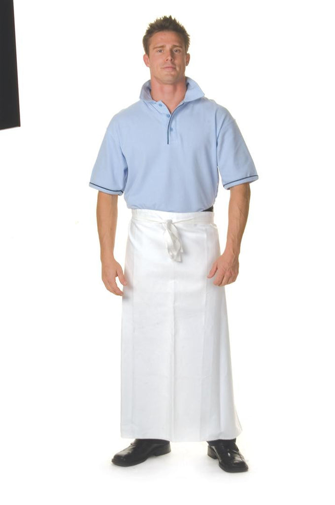 DNC Poly/Cotton Continental Apron No Pocket (2412)