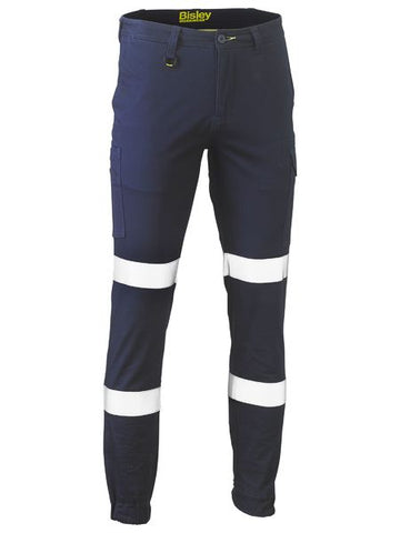Bisley Taped Biomotion Stretch Cotton Drill Cargo Pants (BPC6028T)