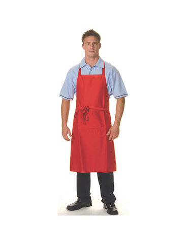 DNC Polyester/Cotton Full Bib With Pocket (2511)
