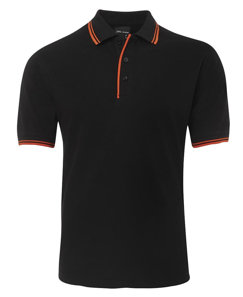 Jb's Contrast Polo - Adults 1st ( 12 Color ) (2CP)