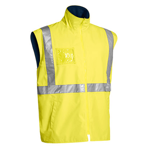 Bisley Taped Hi Vis Wet Weather Vest-(BV0375T)