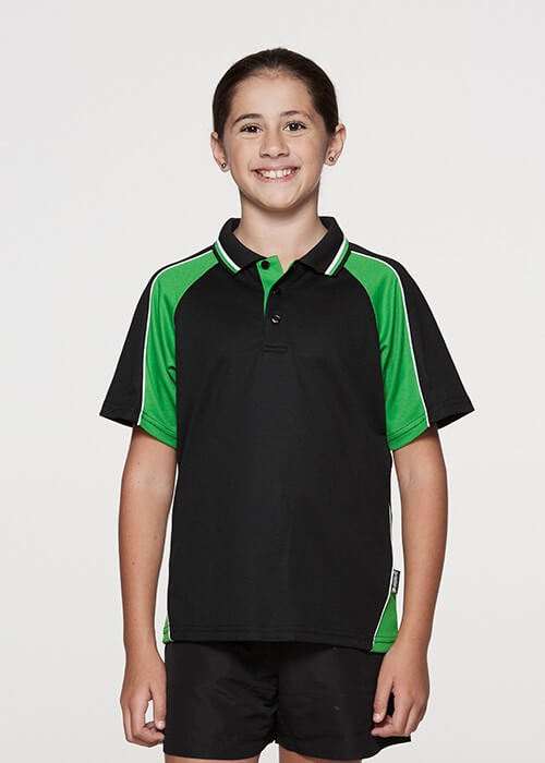 Aussie Pacific Kid's Panorama Polo-(3309)
