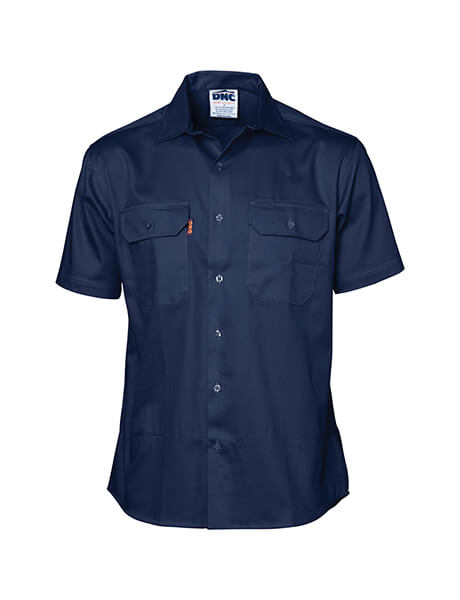 DNC 3207 Cool-Breeze Work Shirt - Short Sleeve -3 Pack