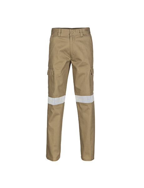 DNC Cotton Drill Cargo Trousers with 3M RT (3319)