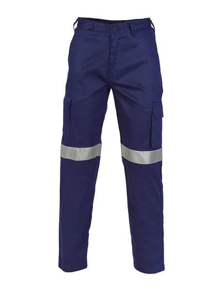 DNC Lightweight Cotton Cargo Pants With 3M R/Tape (3326)