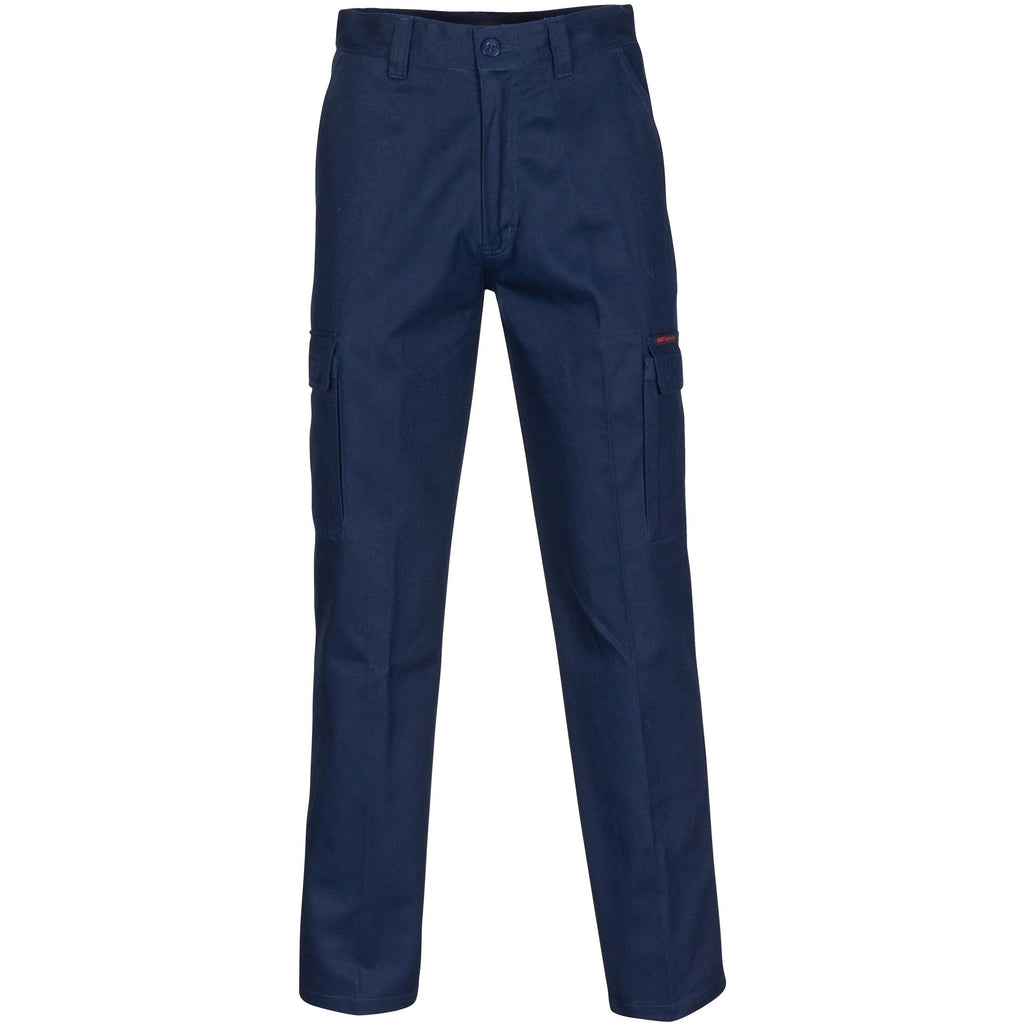 DNC Middle Weight Cotton Double Slant Cargo Pants (3359)