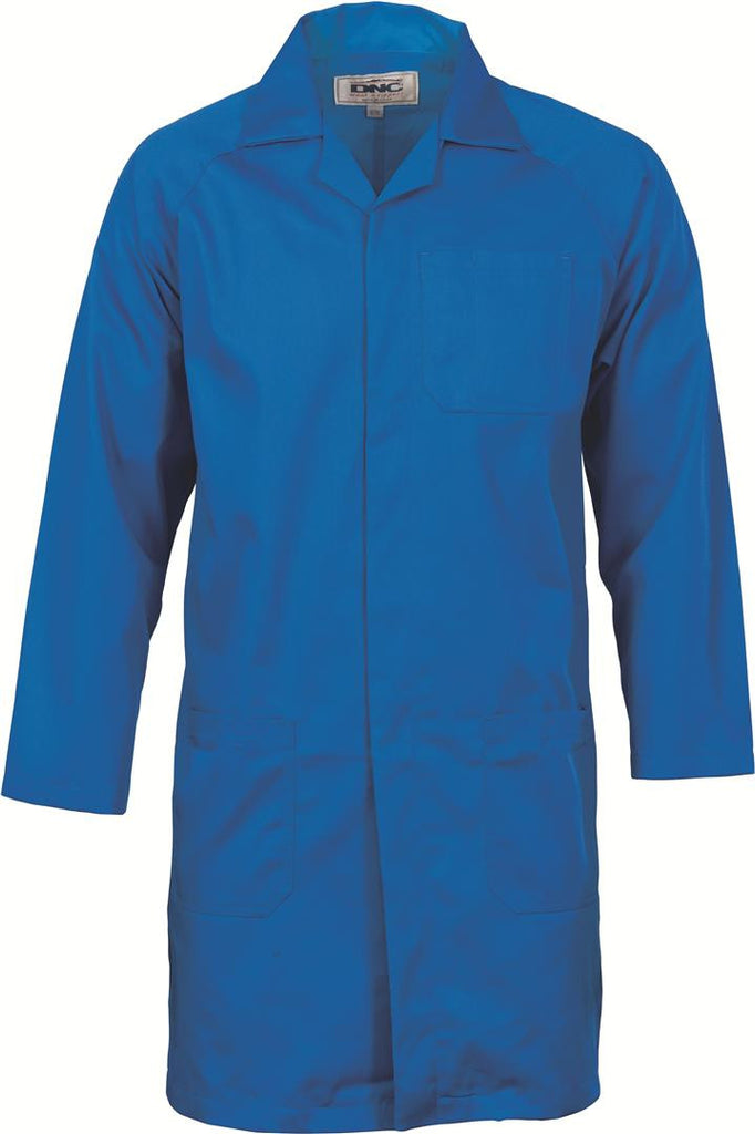 DNC Polyester Cotton Dust Coat (Lab Coat)  (3502)