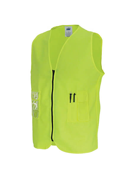 DNC Daytime Side Panel Safety Vests (3806)