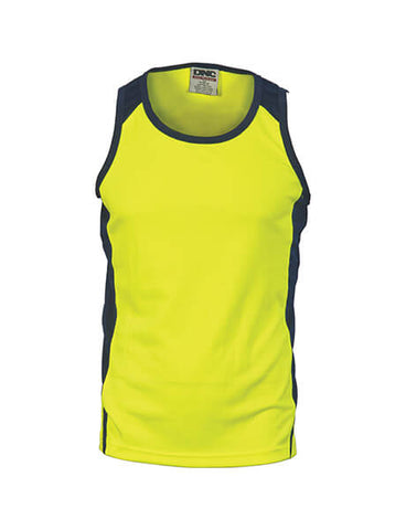 DNC HiVis Cool Breathe Action Singlet (3842)