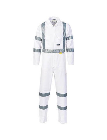 DNC RTA Night Worker Coverall with 3M R/Tape (3856)