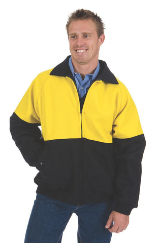 DNC HiVis Two Tone Bluey Bomber Jacket (3869)