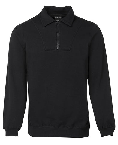 JB's  Adults Half Zip Fleecy Sweat