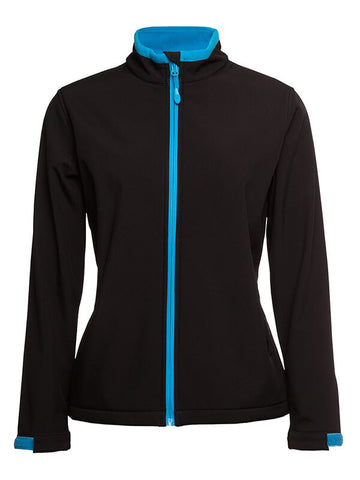Jb's Podium Ladies Water Resistant Softshell Jacket (3WSJ1)