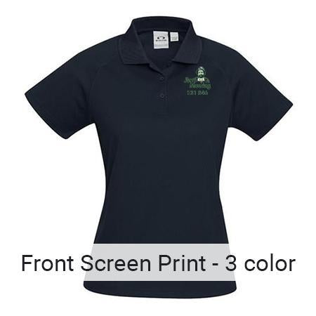 Front Pocket Size- 3 Colour Print
