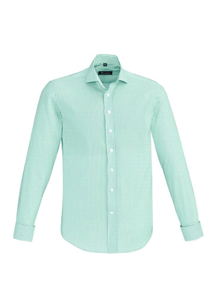 Biz Corporates-Biz Corporate Vermont Mens Long Sleeve Shirt-Dynasty Green / XS-Corporate Apparel Online - 5
