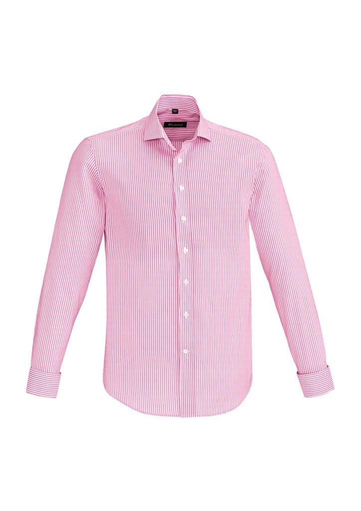 Biz Corporates-Biz Corporate Vermont Mens Long Sleeve Shirt-Melon / XS-Corporate Apparel Online - 7