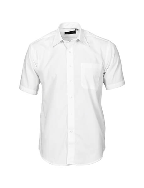 DNC Mens Premier Poplin S/S Business Shirts (4151)