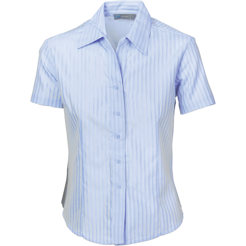 DNCLadies Tonal Stripe S/S Shirts (4235)
