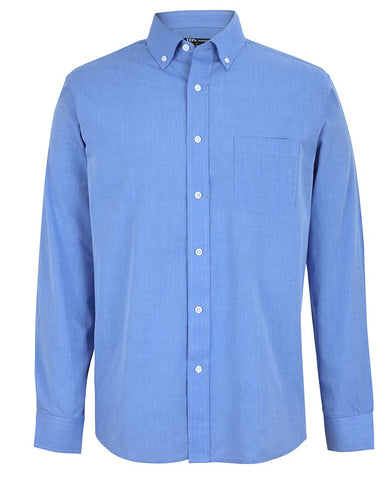 JB's Long Sleeve Fine Chambray Shirt (4FC)