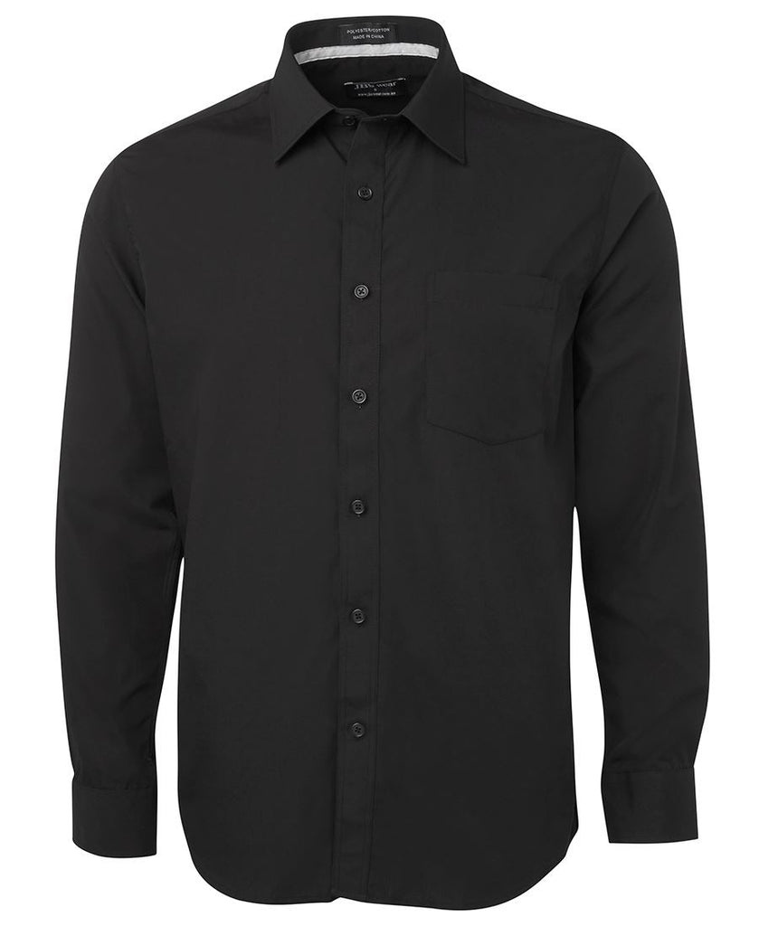 JB's Long Sleeve Contrast Placket - Adults (4PCSL)
