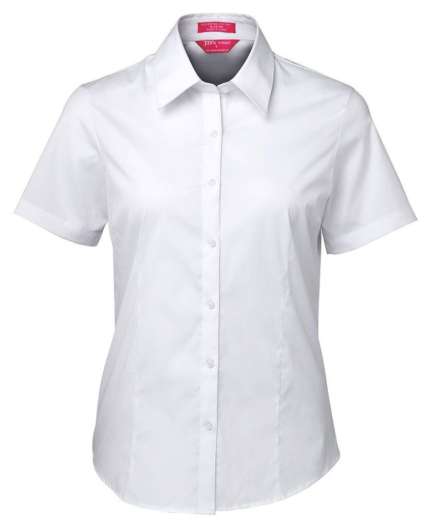JB'sLadies Urban S/S Poplin Shirt (4PLUS)