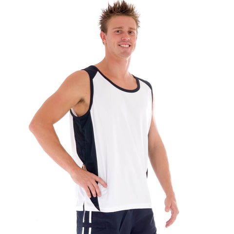 DNC Adult Cool-Breathe Contrast Singlet (5141)