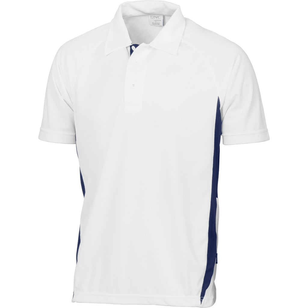 DNC Kids Cool-Breathe Side Panel Polo Shirt (5228)