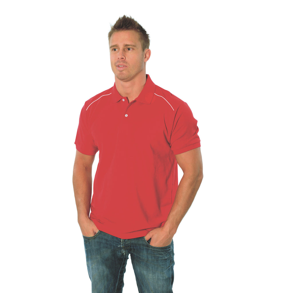 DNC Mens Cotton Rich Paris Polo (5257)