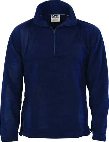 DNC Adult Half Zip Polar Fleece (5321)