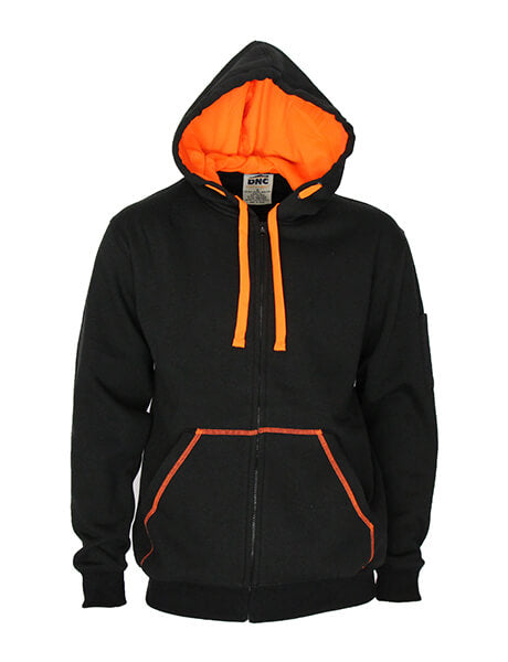DNC Full zip Super Brushed Fleece Hoodie (5424)