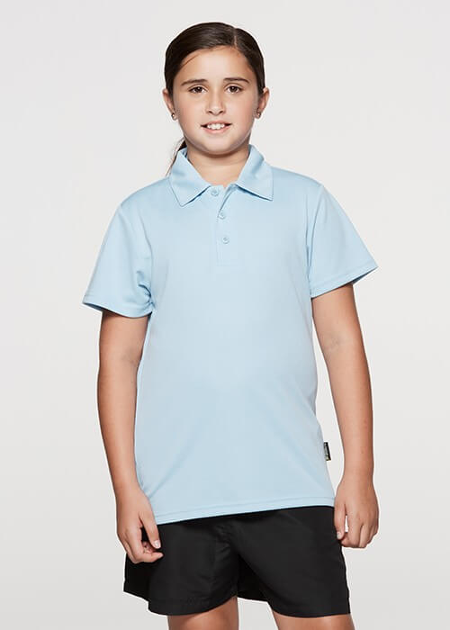 Aussie Pacific Botany Kids Polo-(3307)