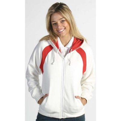 DNC Ladies Contrast Panel Fleecy Top with Hood (5425)