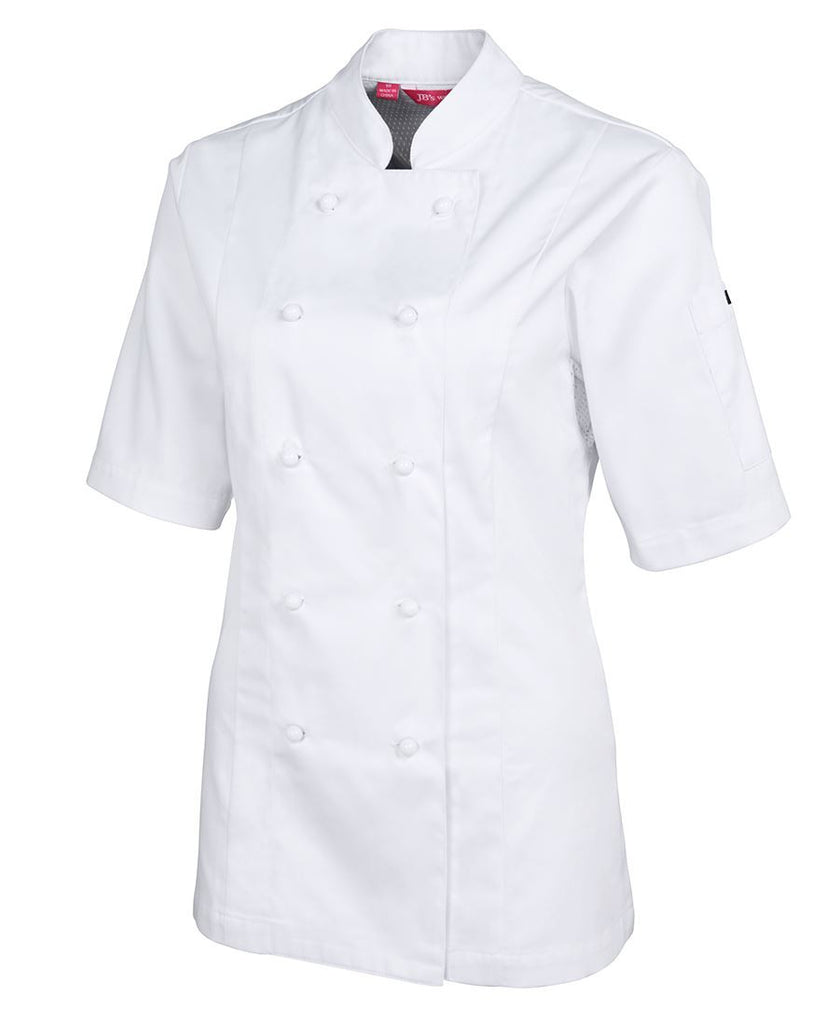 JB's Ladies Vented S/S Chef's Jacket (5CVS1)