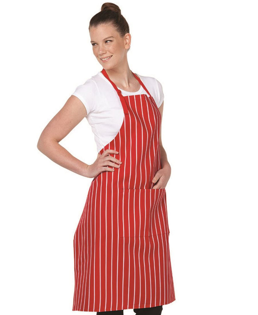 JB's  Bib Striped Apron (5BS)