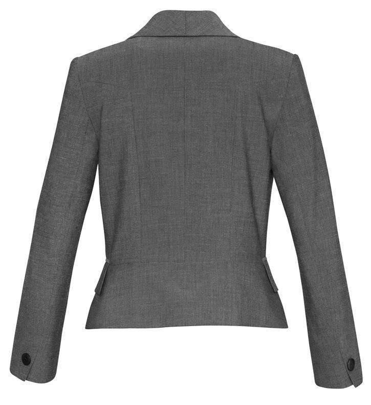 Biz Corporates-Biz Corporates Ladies Cropped Suit Jacket--Corporate Apparel Online - 3