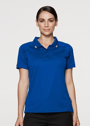 Aussie Pacific Flinders Ladies Polo 1st (8 Colour)-(2308)