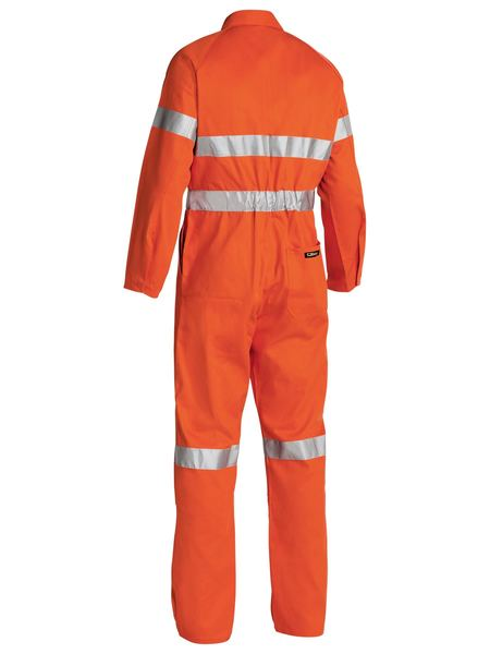 Bisley  Hi Vis Coveralls 3m Reflective Tape-(BC607T8)