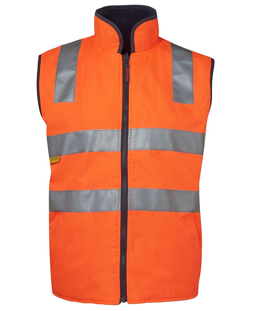 JB's Hi Vis (D+N) Reversible Vest - Adults (6D4RV)