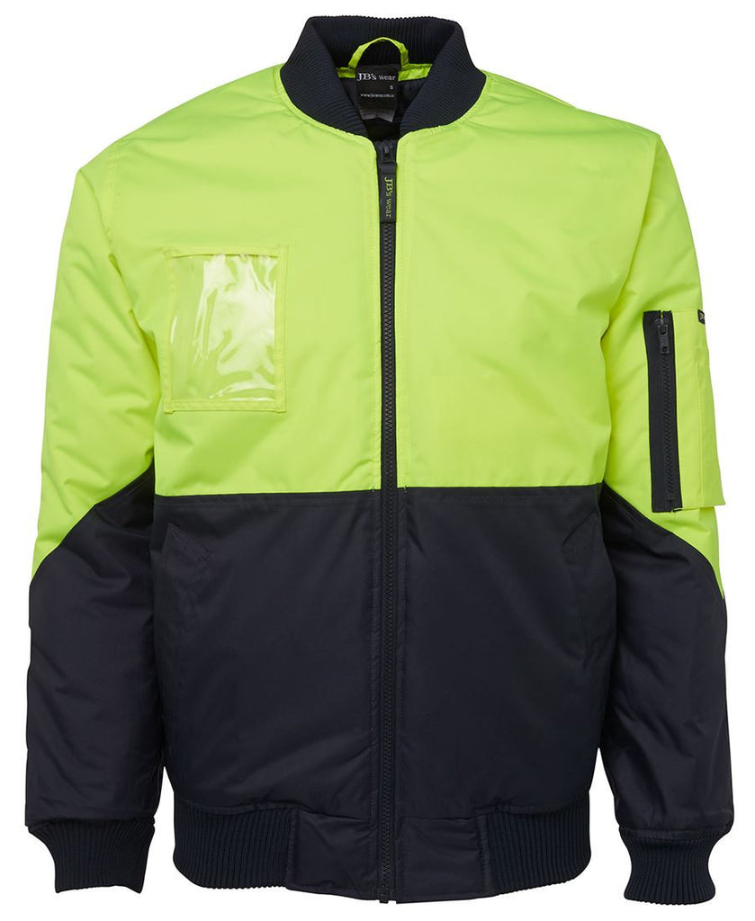 Jb's Hi Vis Flying Jacket - Adults (6HVFJ)