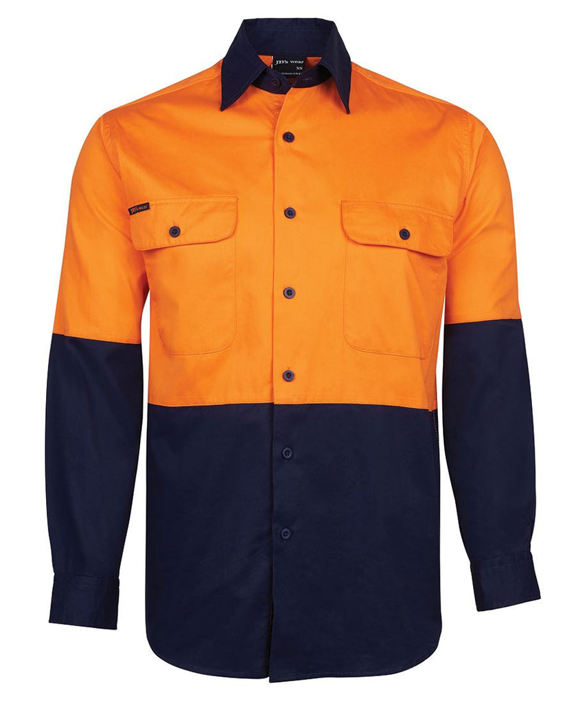 Jb's Hi Vis Long Sleeve 150g Shirt - Adults (6HWSL)