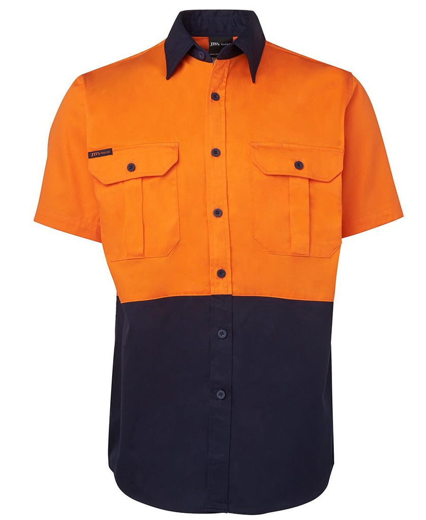 Jb's Hi Vis Short Sleeve 190g Shirt - Adults (6HWS)