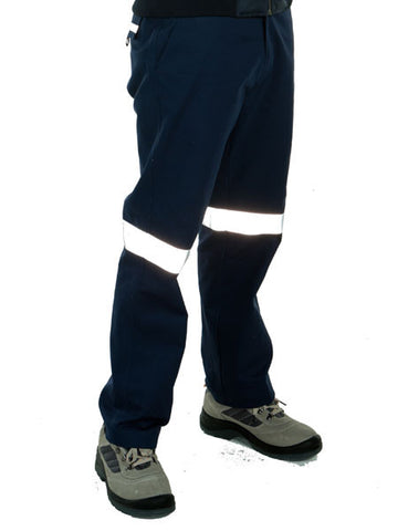 JB's Mercerised Work Trouser With 3M Tape (6MDNT)