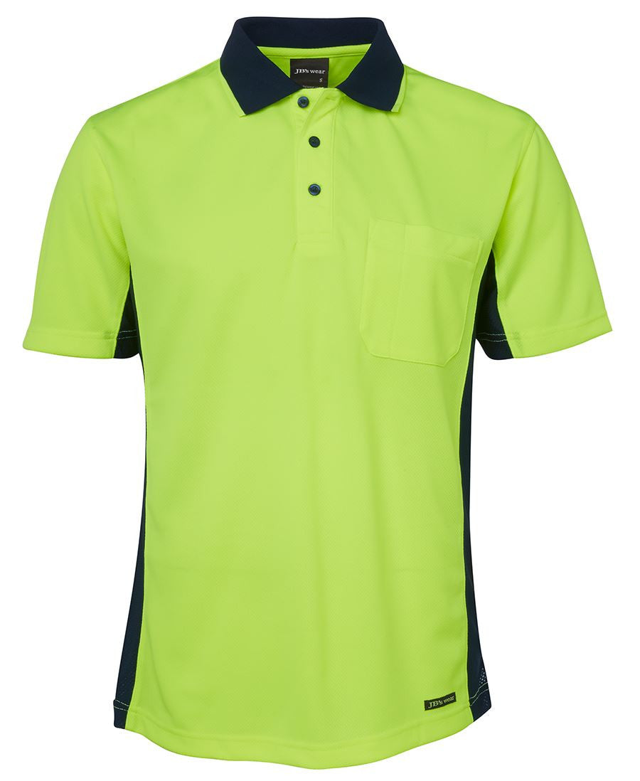 Jb's Hi Vis Short Sleeve Sport Polo - Adults (6SPHS)