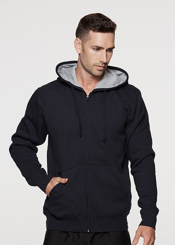 Aussie Pacific Kozi Zip Mens Hoodies-(1503)