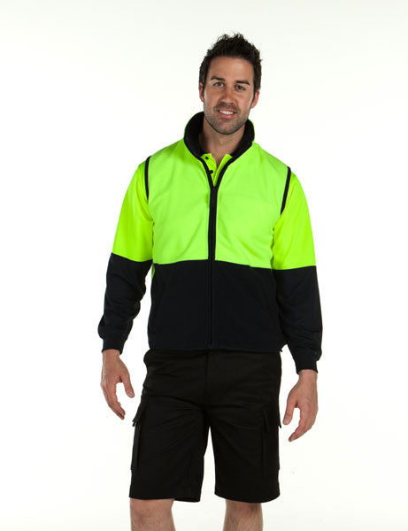 Jb's Hi Vis Polar Vest - Adults (6HVPV)