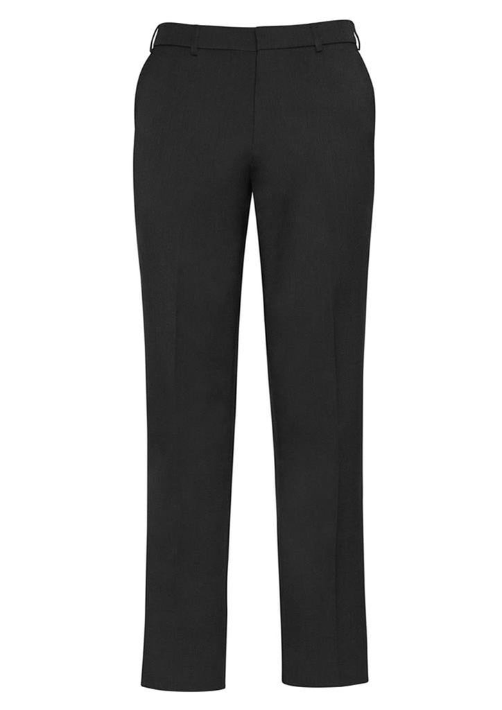 Biz Corporates-Biz Corporates Mens Adjustable Waist Pant Stout-Charcoal / 107S-Corporate Apparel Online - 4