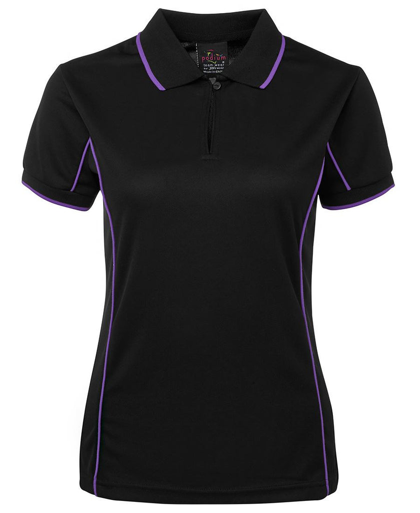JB's Podium Ladies Piping Polo 1st (11 Color ) (7LPI)