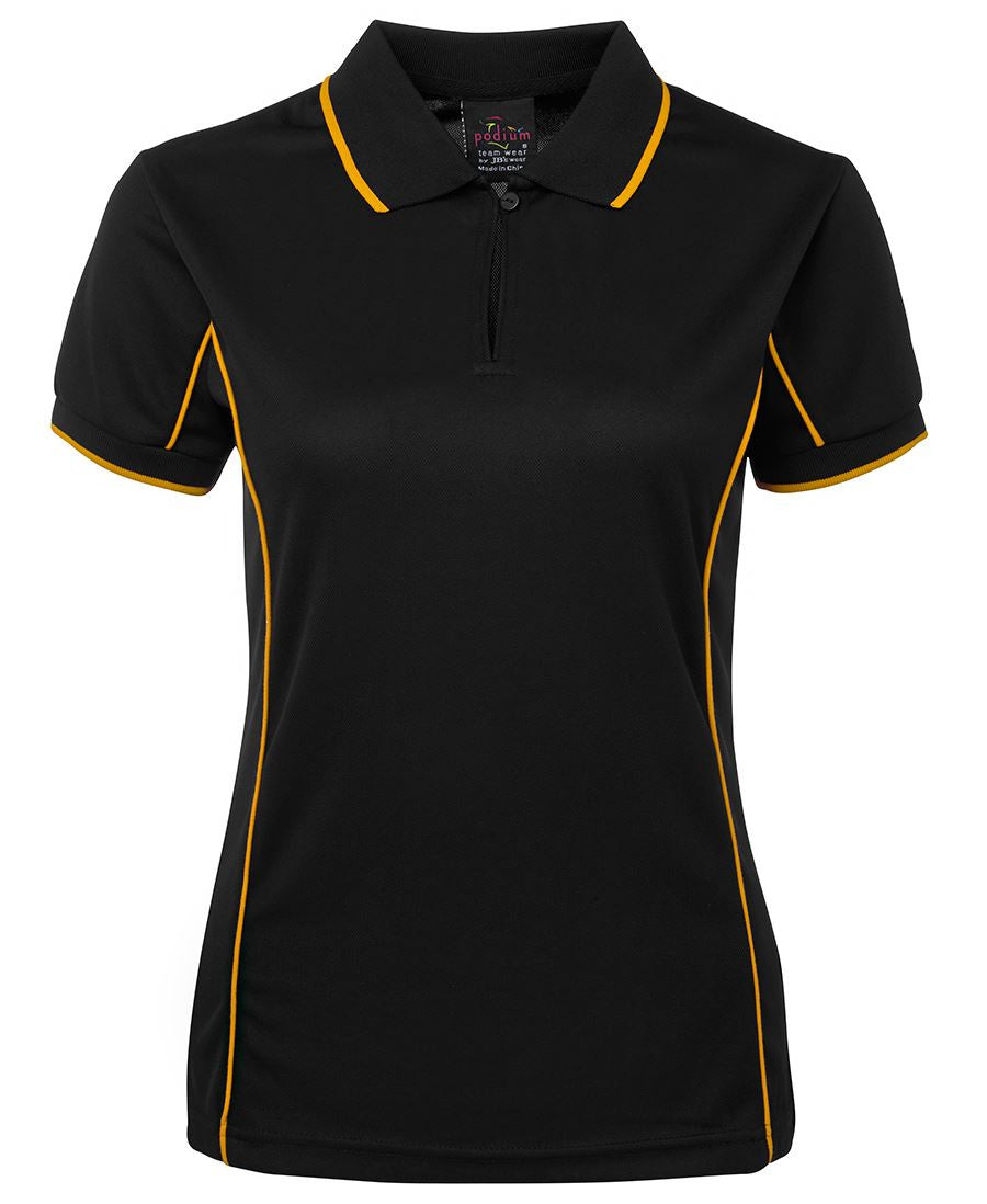 JB's Podium Ladies Piping Polo 1st (10 Color ) (7LPI)